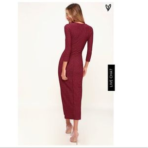 Lulu's Dresses - Lulu's midi dress